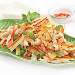 Món gỏi hoa chuối thịt gà chay   MCKV03