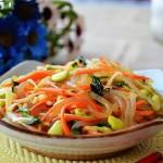 Món Salad trộn rau mầm   MCKV04